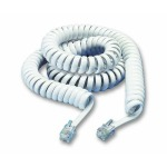 Coiled Telephone Handset Lead