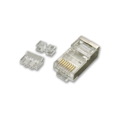 KAUDEN™ CAT5E/CAT6/CAT6A Shielded RJ45 Plug (pack of 10)