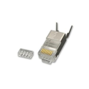 KAUDEN™ CAT6A/CAT7/CAT8 Shielded RJ45 Plug (pack of 10)