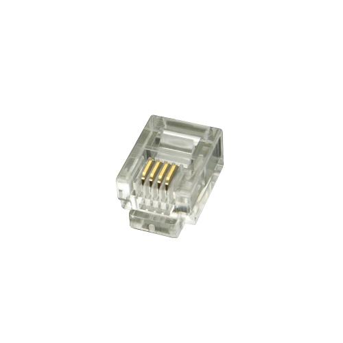 KAUDEN™ RJ11 Modular Plug  (pack of 100)