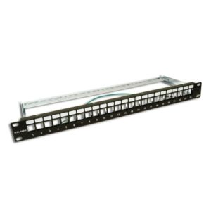 KAUDEN™ Unpopulated 24 Port Patch Panel